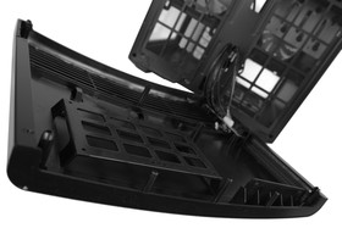 """Fractal Design Node 804 - Zwei versteckte 2,5""""-Schächte hinter der Front"""