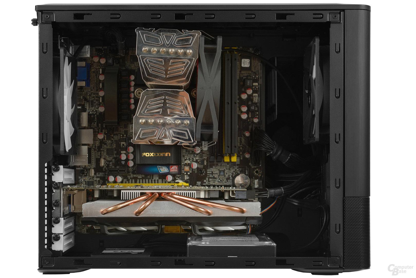 Fractal Design Node 804 - Testsystem