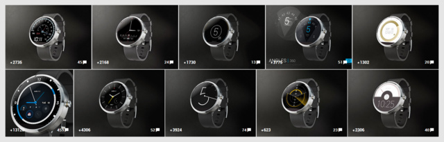 Moto 360 Design Face-Off Top 10 Finalists