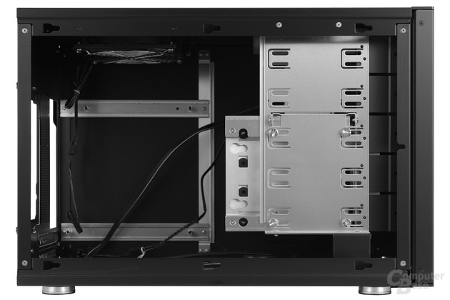 Lian Li PC-Q35 - Innenraumansicht