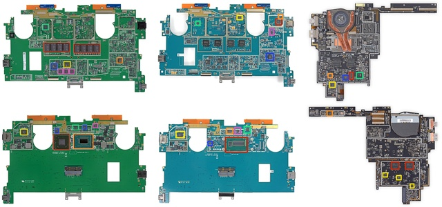 Mainboards: Surface Pro, Surface Pro 2, Surface Pro 3
