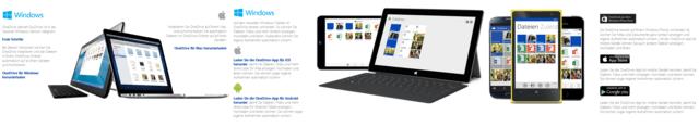 Microsoft OneDrive – für jedes Gerät
