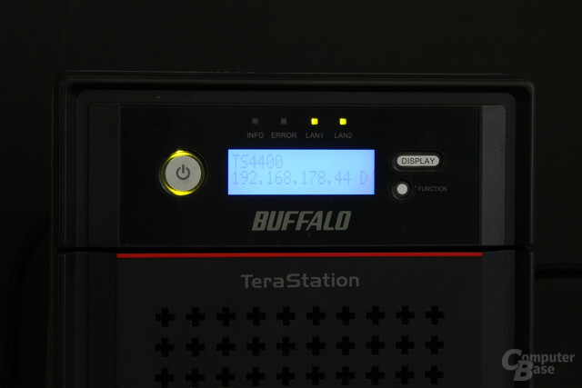 Buffalo TeraStation 4400 – Display