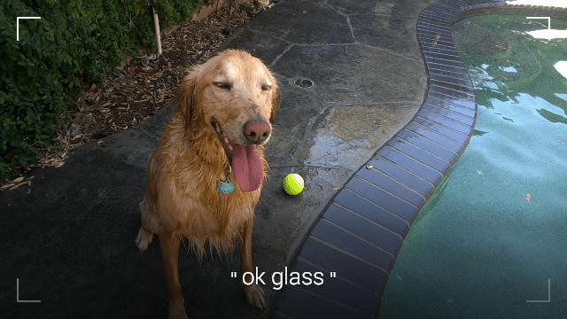 Google Glass mit Bildsucher