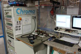 ComputerBase-Testplattform für Effizienzmessungen – Chroma 8000 ATS
