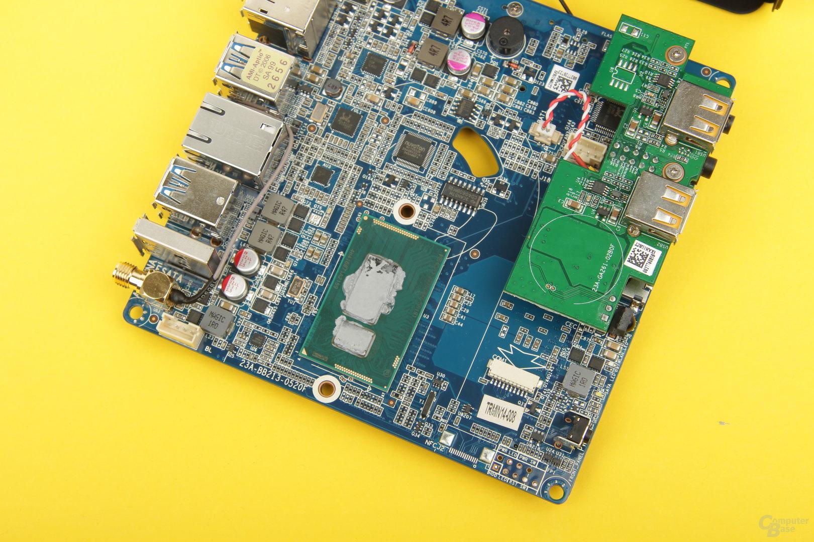 Die Hauptplatine der nano CI540