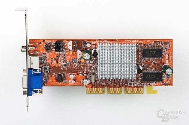 Radeon 9200 SE - Draufsicht