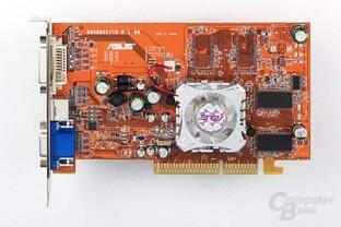 Radeon 9600 SE - Draufsicht