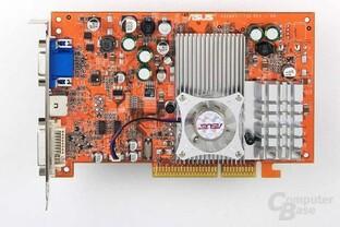 Radeon 9600 XT - Draufsicht