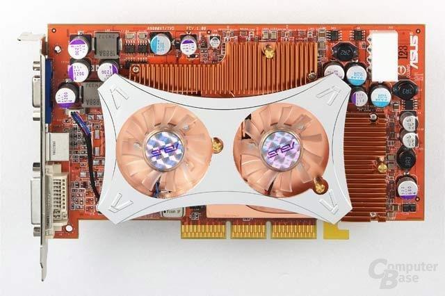Radeon 9800 XT - Draufsicht