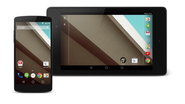Android L für Smartphone und Tablet