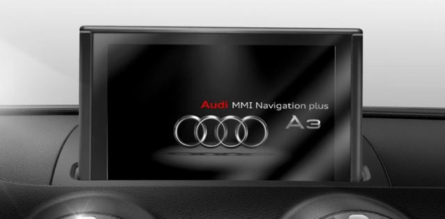 Das Audi MMI Navigation Plus