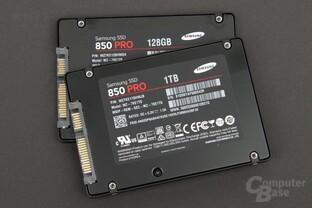 Im Test: die Modelle mit 128 und 1.024 GB