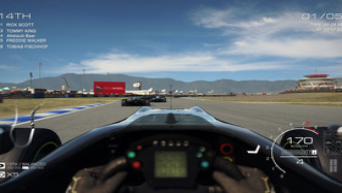 Nur unscharf: Eines der besseren Cockpits