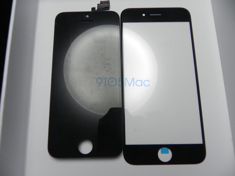 Vergleich: Front iPhone 5 und iPhone 6