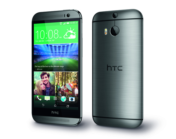 HTC One (M8) in Grau