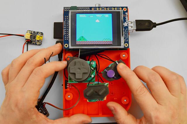 Der Game Boy als Nachbau