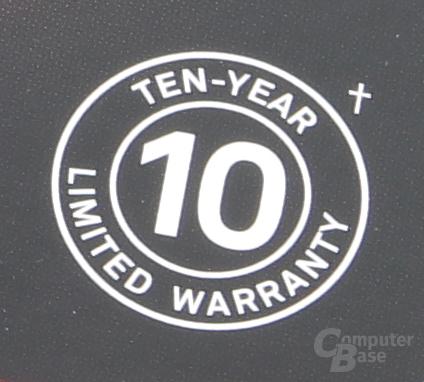 Die erste Consumer-SSD mit 10 Jahren Garantie