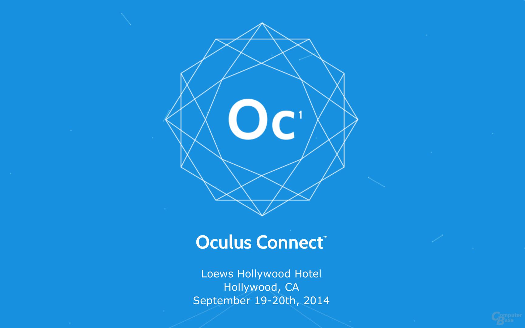 Vom 19. bis 20. September in Hollywood: die Oculus Connect
