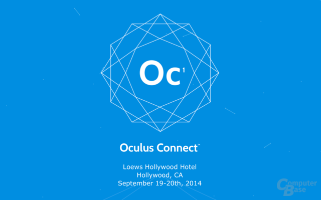 Vom 19. bis 20. September in Hollywood: die Oculus Connect