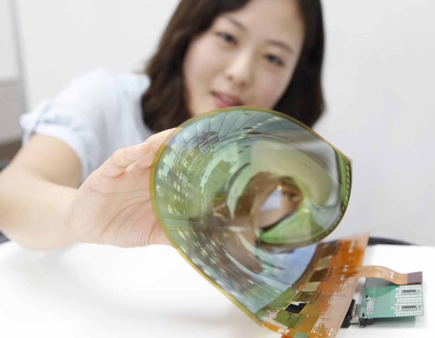 Rollbares OLED-Panel