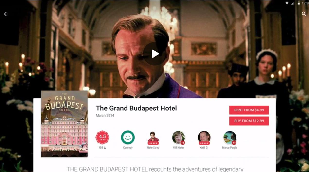 Vorschau auf Googles neuem Play Store bei der Google I/O 2014