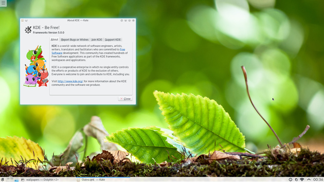 Über KDE
