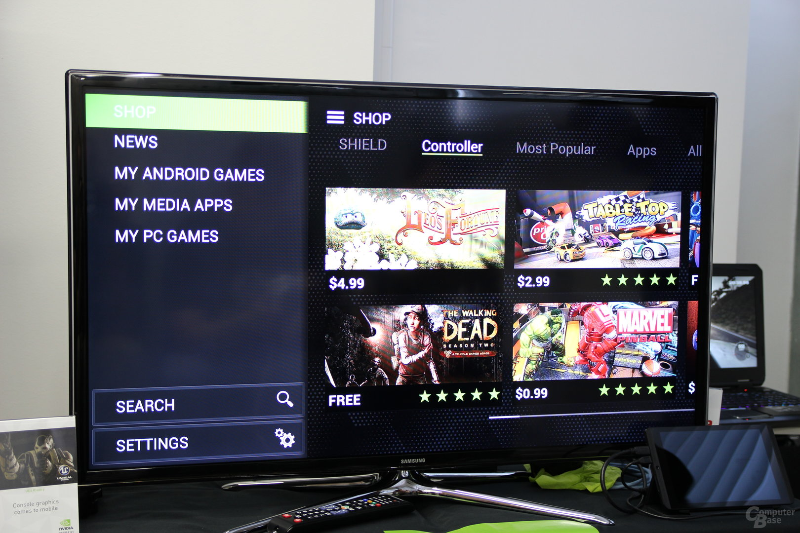 Nvidia Shield Tablet - Android-Spiele