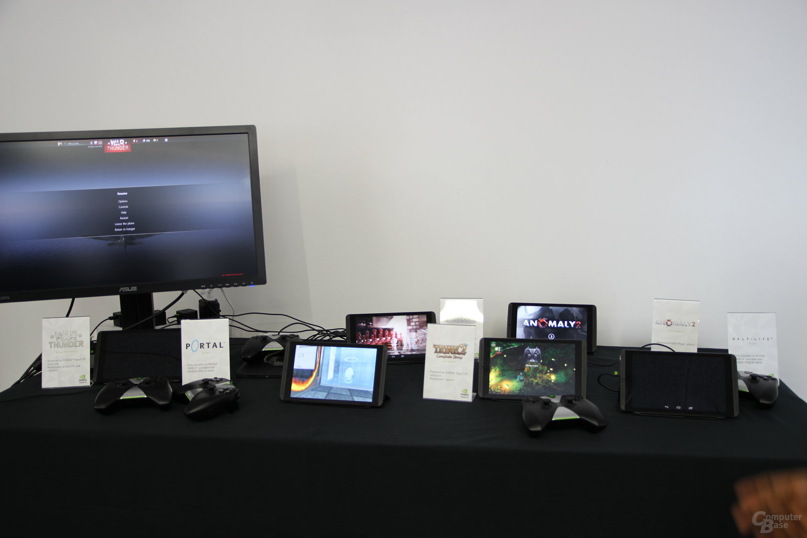 Nvidia Shield Tablet - Spieleauswahl