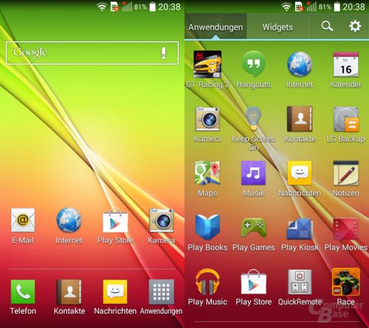 LG L-Serie Easy UI