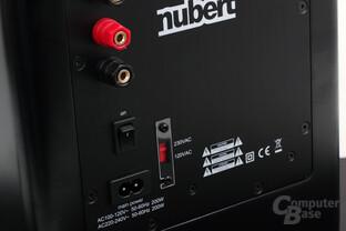 NuPro AW-350 – Anschlüsse
