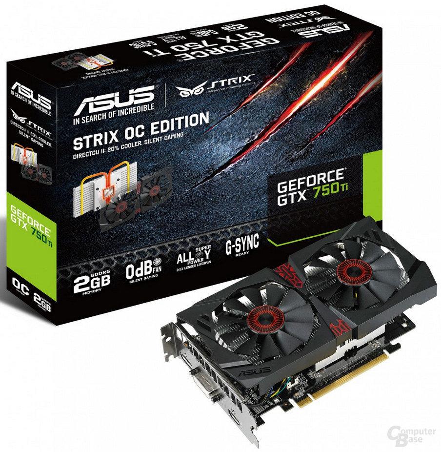 Asus GeForce GTX 750 Ti Strix OC – Pressebild