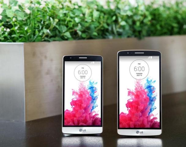 Das LG G3 s (links) im Vergleich zum LG G3