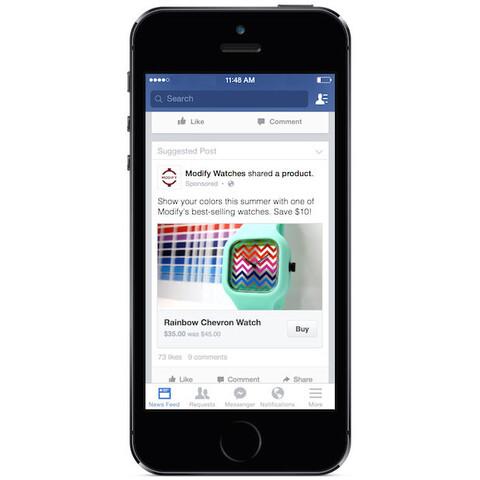 Facebooks neue Kauffunktion