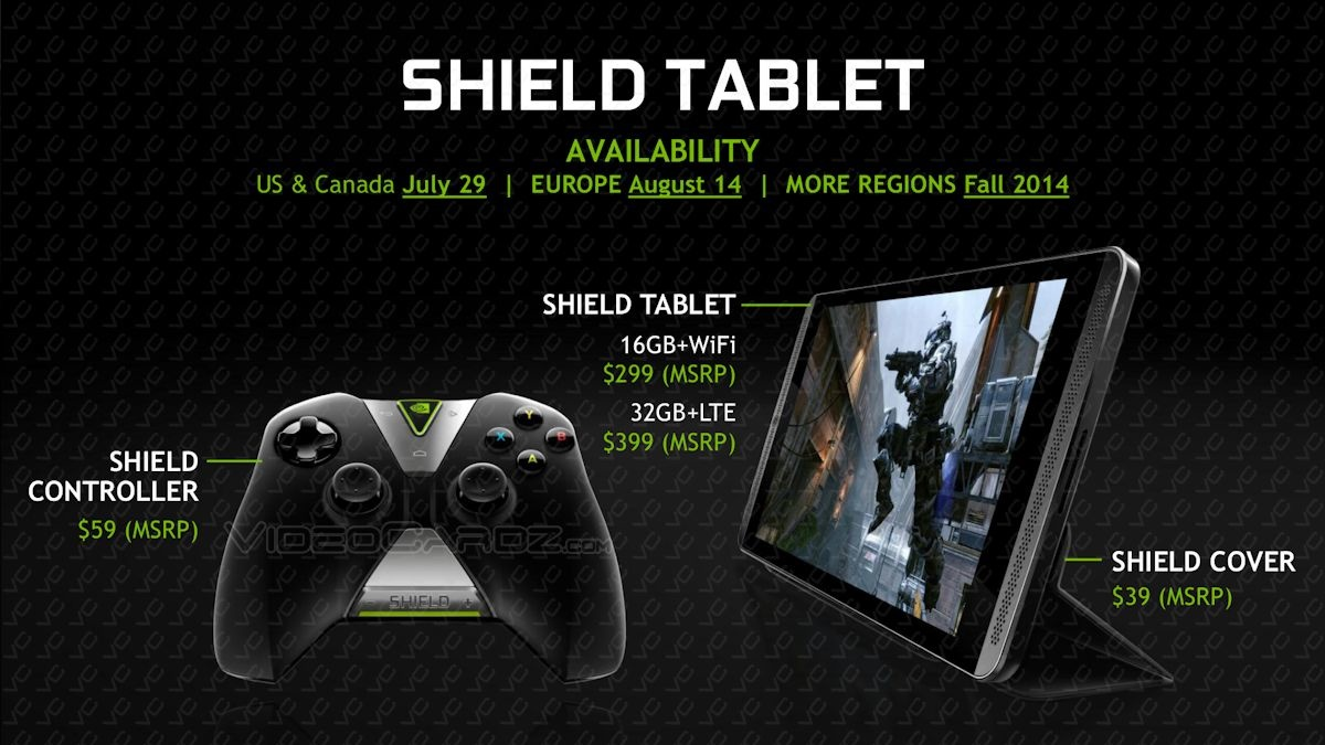 Nvidia Shield Tablet (Leak)