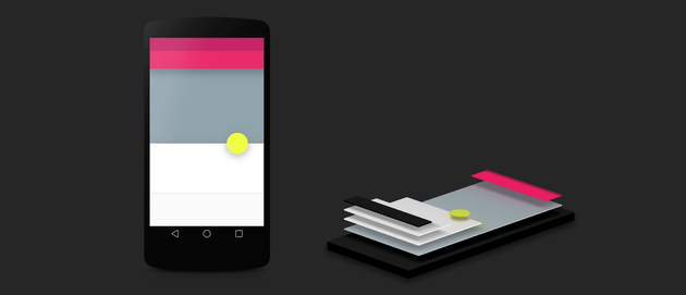 Android L mit Material Design