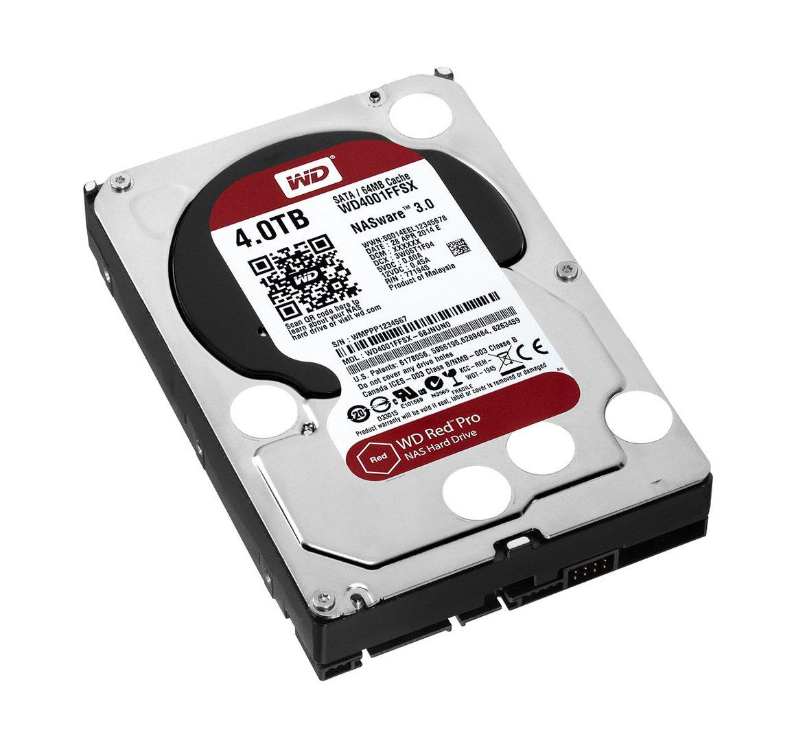 WD Red Pro für größere NAS-Systeme