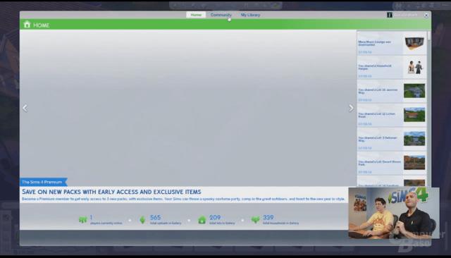 Eingeblendete Werbung für Sims 4 Premium (13:26)