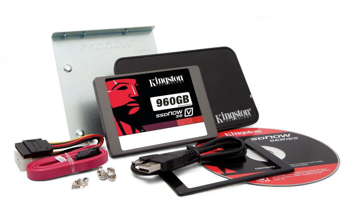 Kingston SSDNow V310 960GB Combo-Bundle