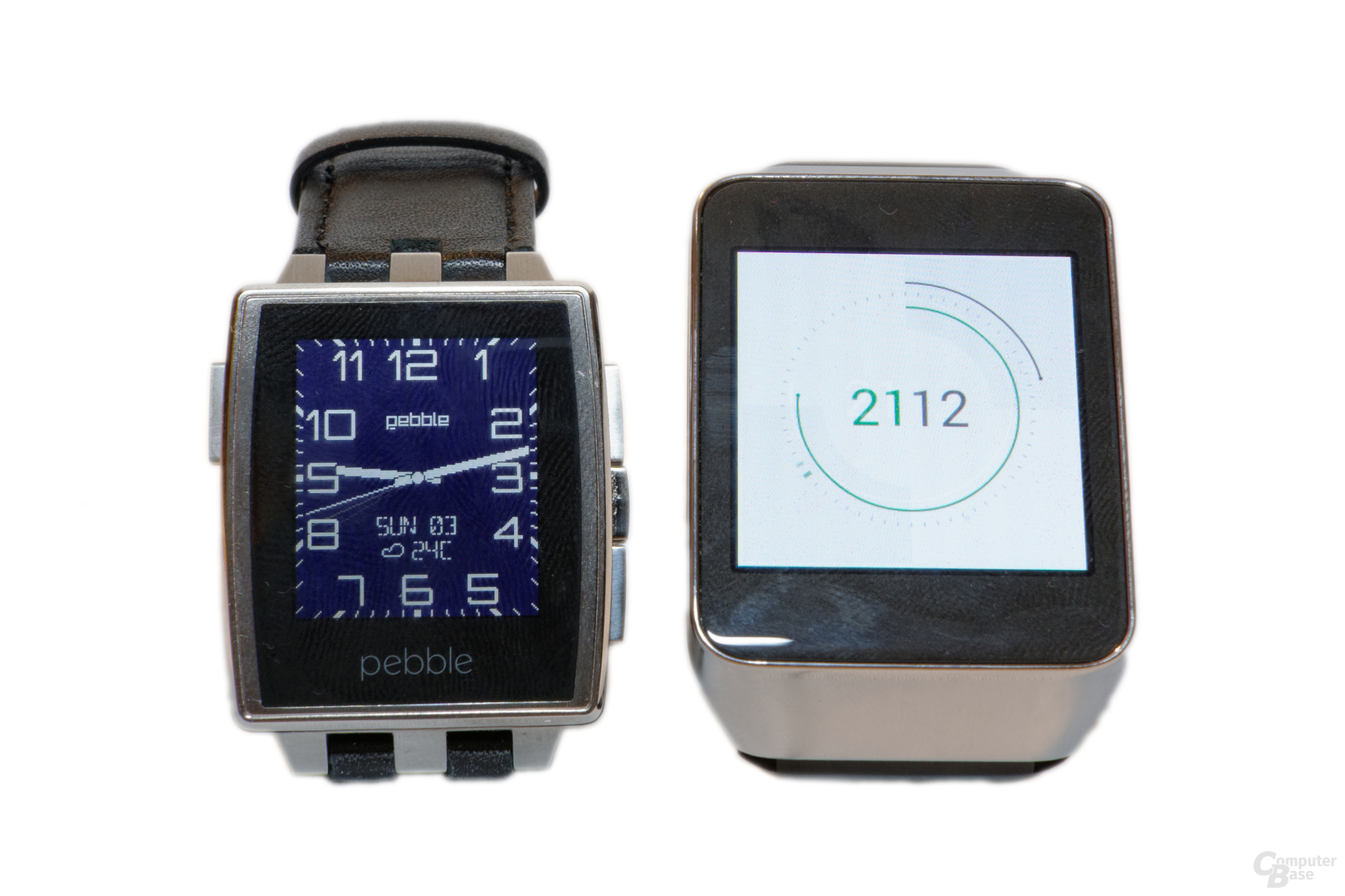 Pebble Steel und Samsung Gear Live
