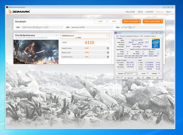 Angeblicher 3DMark-Wert der GeForce GTX 880