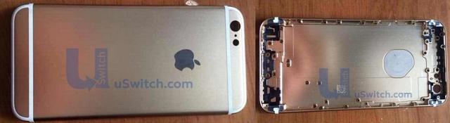 Vermeintliche Rückseite des iPhone 6
