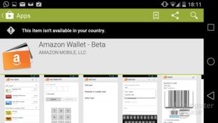 Amazon Wallet nicht in Deutschland