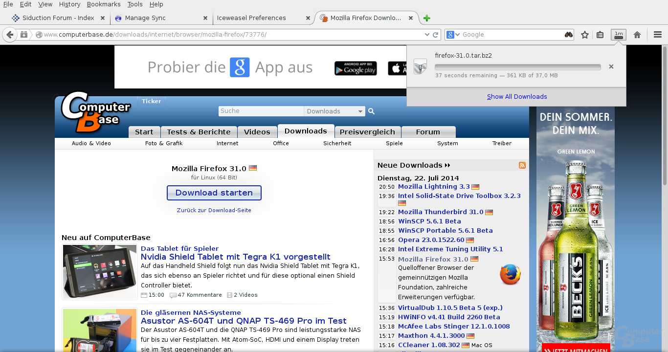 Firefox 31 Download