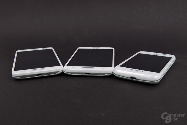 LG L70, L90 und L40
