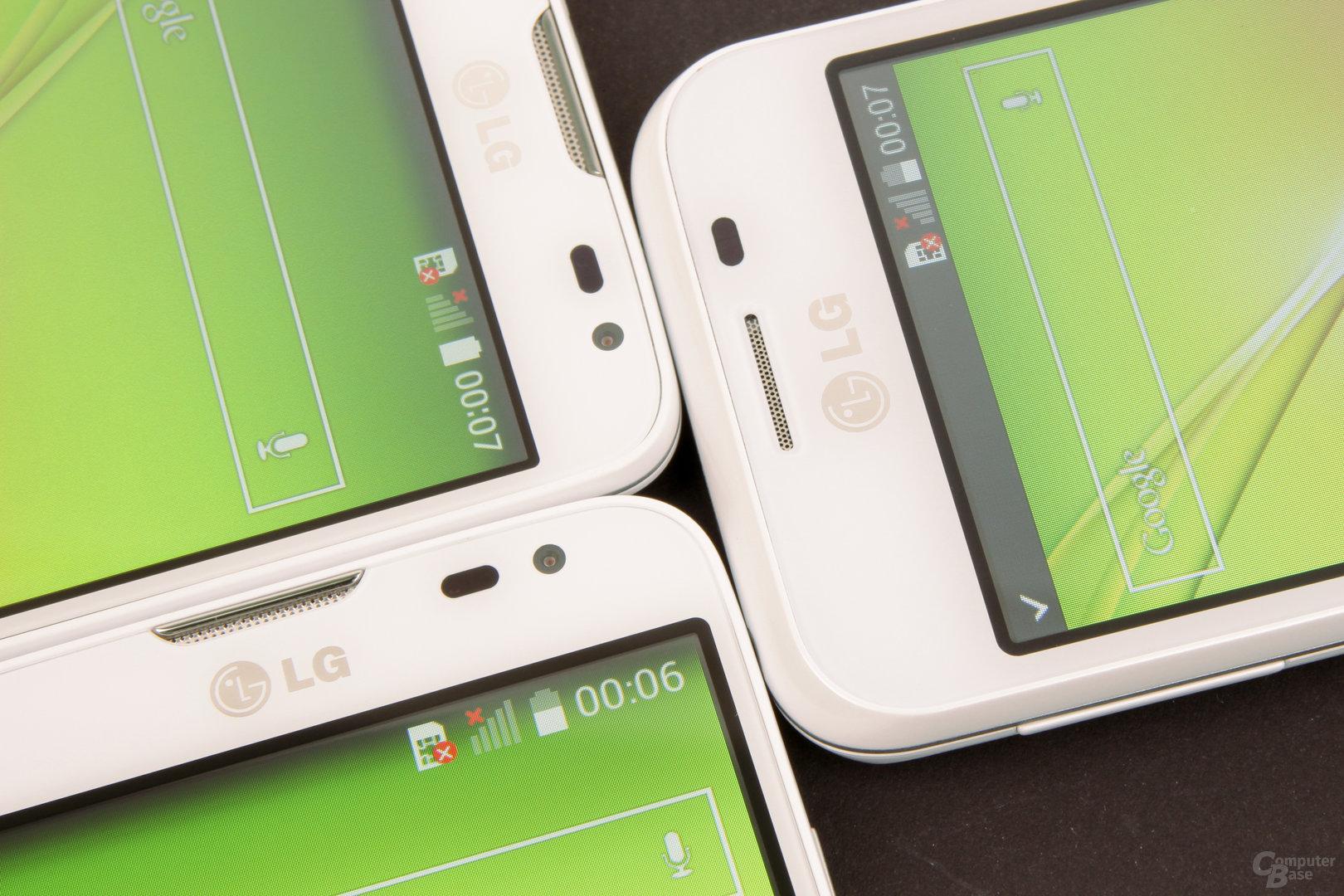 LG L40, L70 und L90 Display