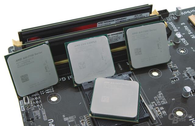 """AMDs """"Kaveri"""" versammelt sich"""