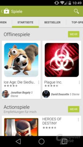 Google Play Store Hebt OfflineSpiele Hervor ComputerBase - Minecraft offline spiele