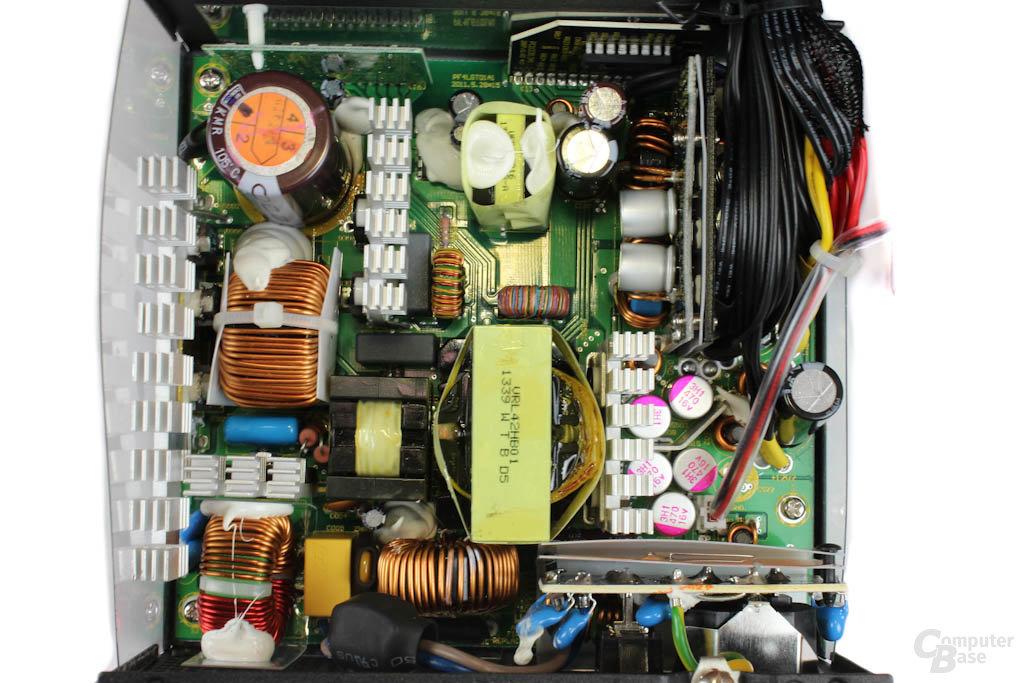 Sea Sonic S12G - Überblick Elektronik