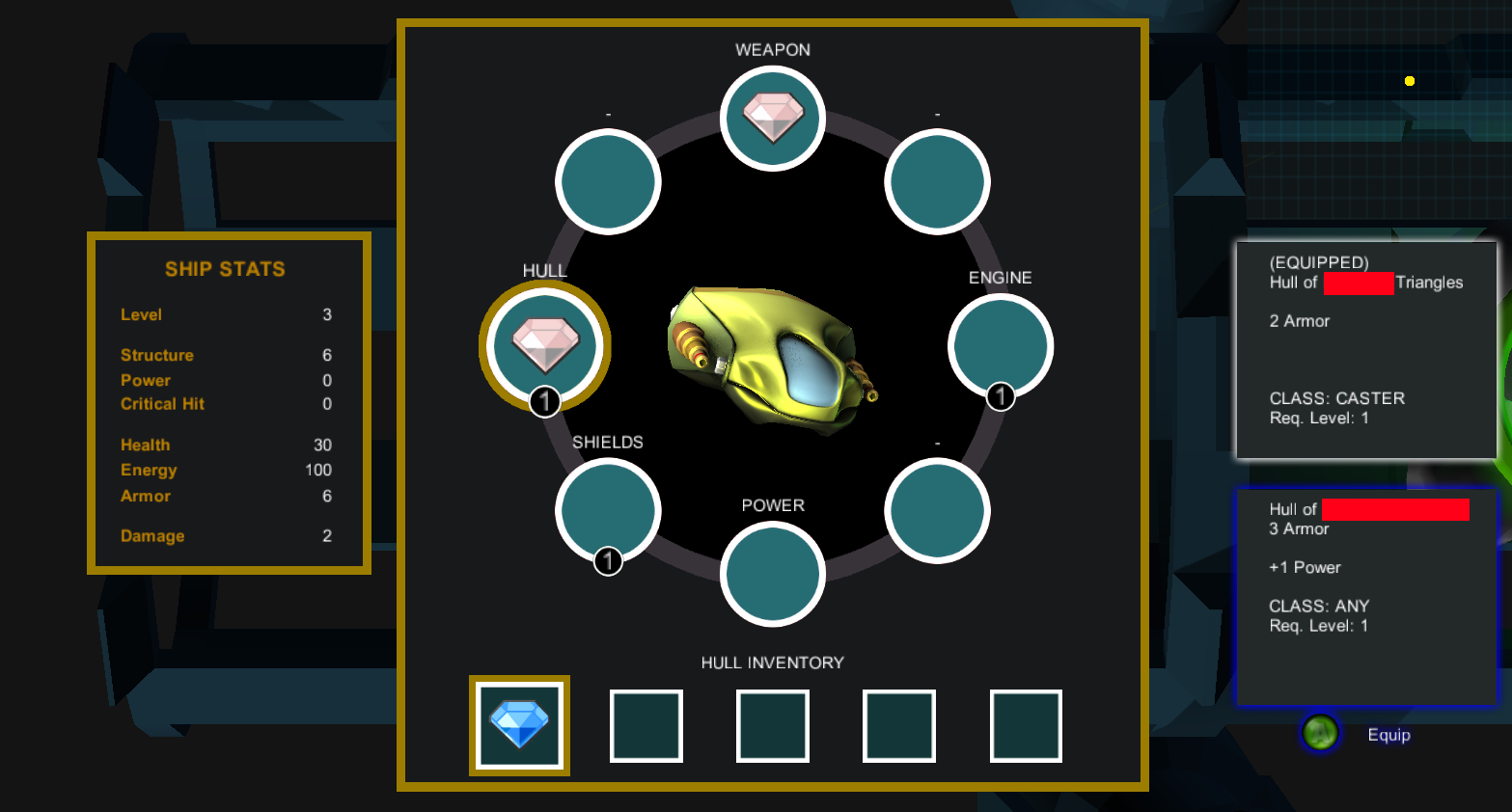Riftlight: Inventarsystem
